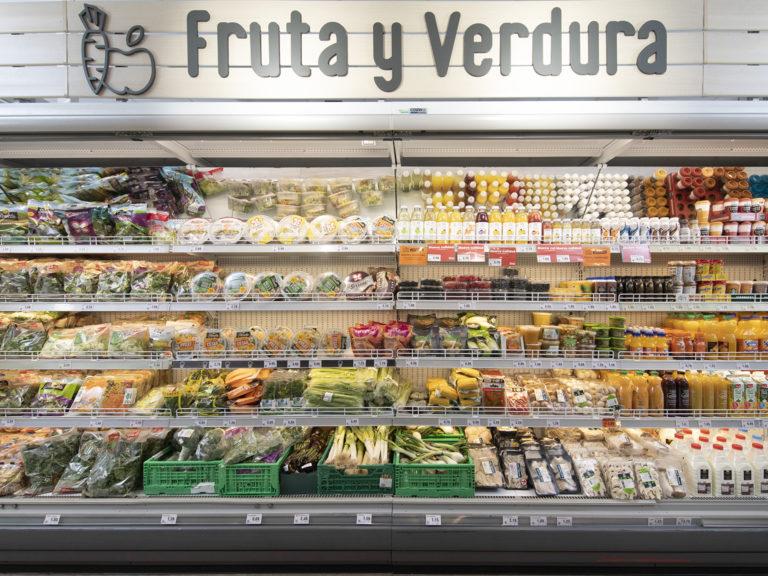 Nuevo modelo de franquicia DIA - Fruta y verdura