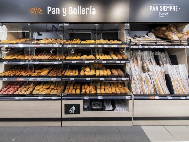Nuevo modelo de franquicia DIA - Pan y bollería