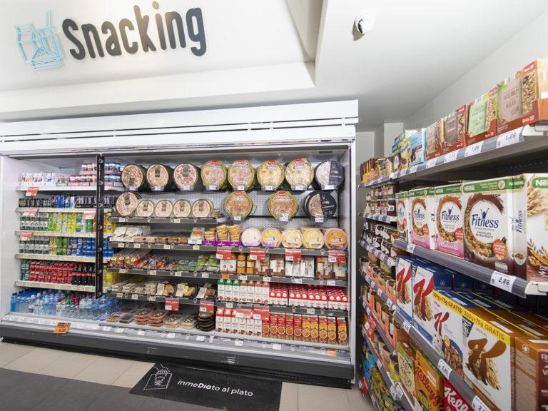 Nuevo modelo de franquicia DIA - Snacking