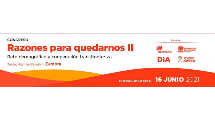 """DIA participa en el congreso """"Razones para quedarnos"""" el 16 de junio en Zamora"""