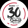 Top 30 marca más valiosa